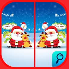 Activities of Spot the Difference Merry Christmas Find it Game.s