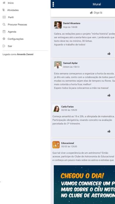 Colégio Augusto Laranja screenshot one
