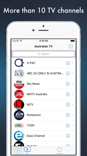 Australia TV - Australian television online on the App Store