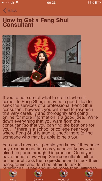 How To Feng Shui -  Tranquility and Harmony screenshot-3