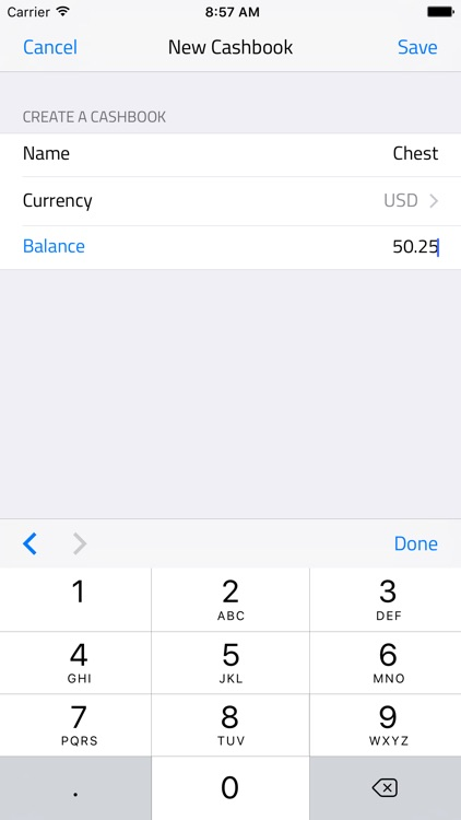 Simple Cashbook