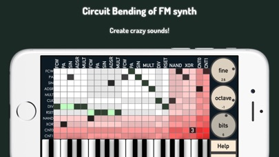 bent.fm - circuit bending Screenshots