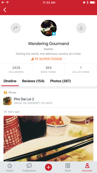 Screenshots of Urbanspoon - Restaurant & Food Reviews for iPhone