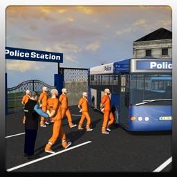 Police Prison Bus Driver Job 3D: Drive Coach & Transport Criminals to City Jail