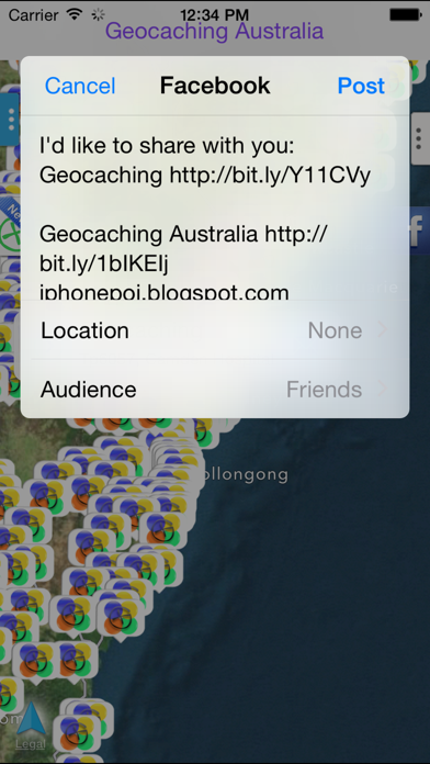 Geocaching Australia screenshot three