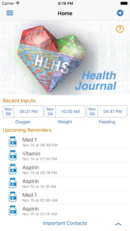 HLHS Health Journal