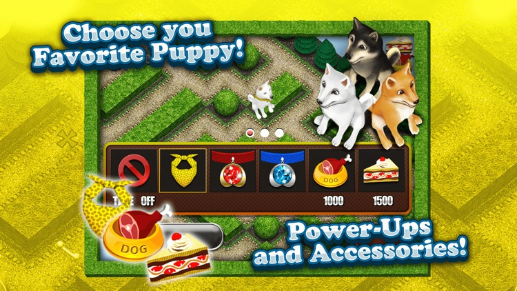 Cool Dog 3D My Cute Puppy Maze Game for Kids Free screenshot-4