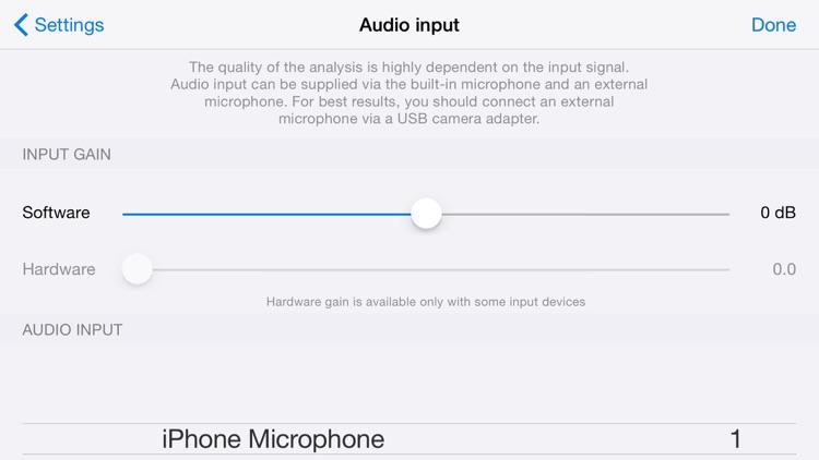 Audio Spectrum screenshot-3