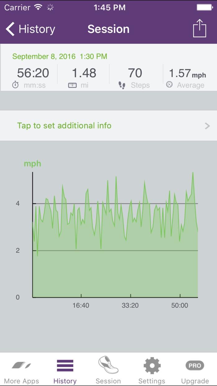 Pedometer Step Counter & Walk Tracker by Runtastic Screenshot