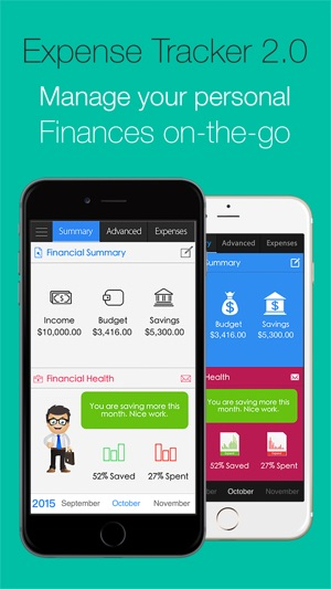 expense tracker 2 0 let s save on the app store