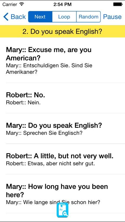 English Study for German - Englisch Lernen screenshot-4