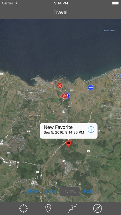 SAO MIGUEL ISLAND – GPS Travel Map Offline Navigator screenshot-2