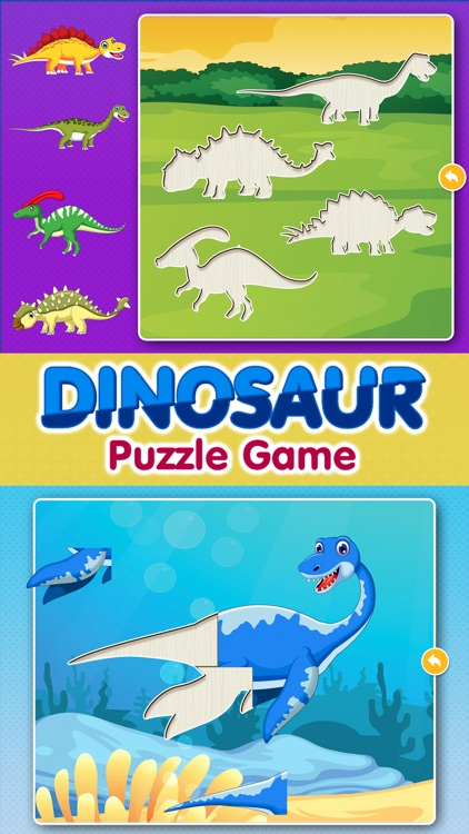 Dinosaur Games: Puzzle for Kids & Toddlers