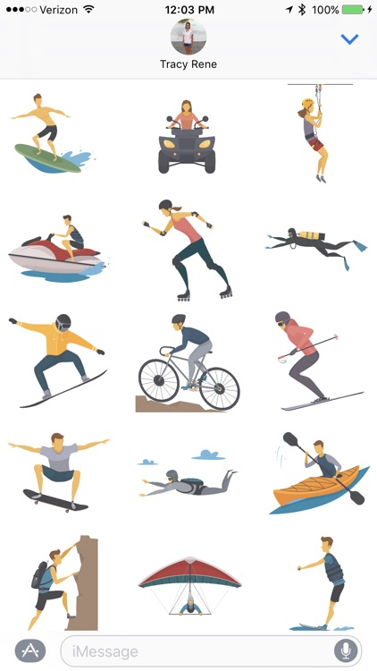 Extreme Sport - Sticker Pack
