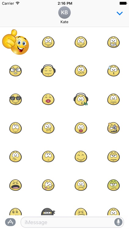 Mega Emoji Pack Stickers - 600+ Stickers screenshot-3