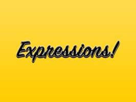 Expressions Crispy Black Stickers for iMessage