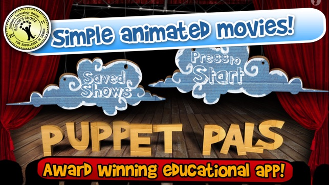 puppet pals pocket director s pass on the app store