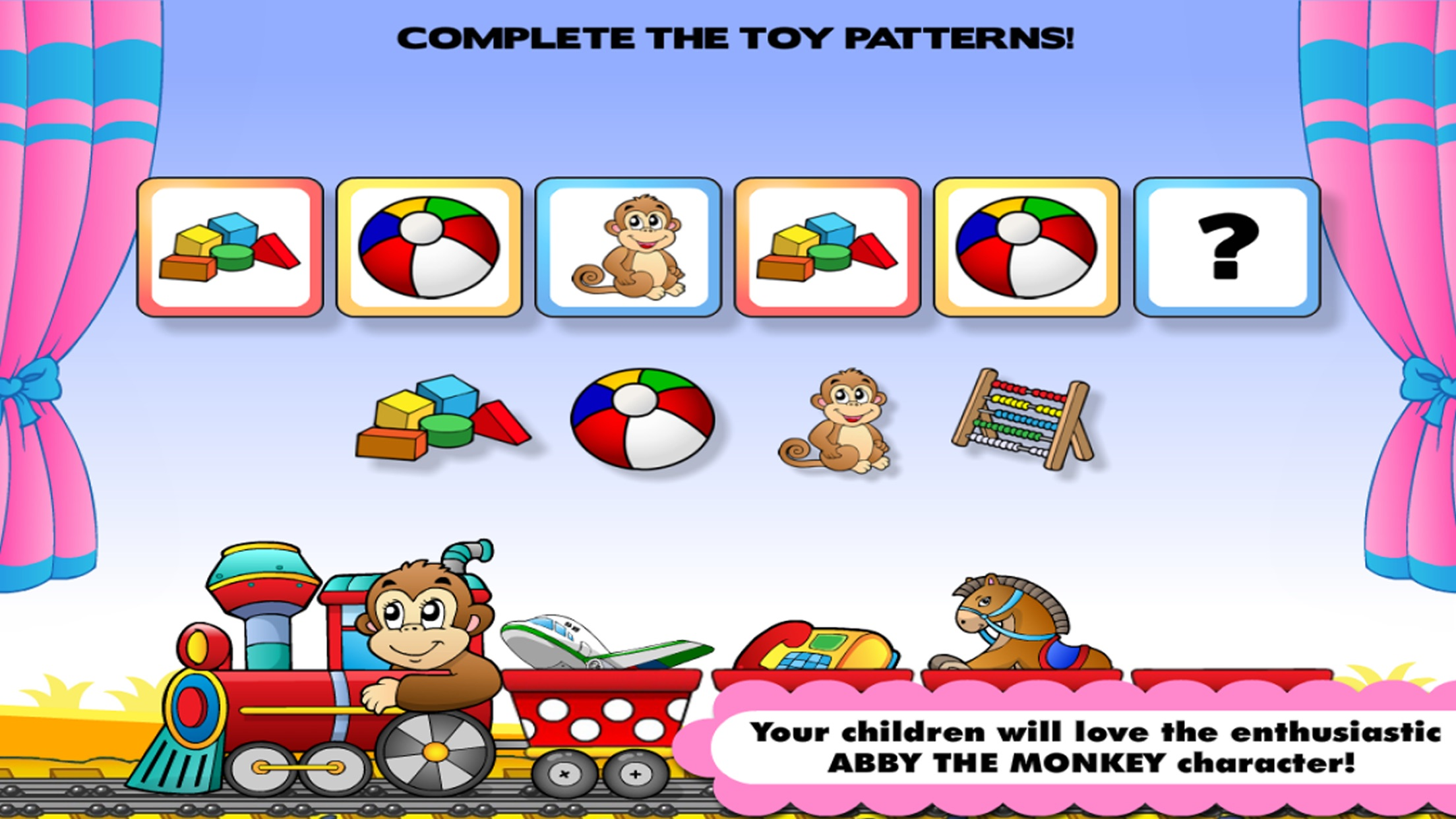 Preschool! & Toddler kids learning Abby Games free Screenshot