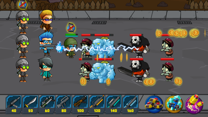 Zombie Defense vs Snipers - Zombies Games Frontier screenshot two