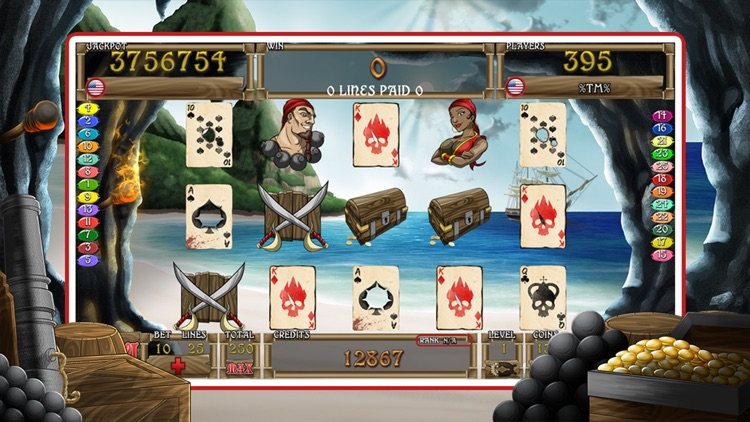 Slots of the Caribbean Fun screenshot-0