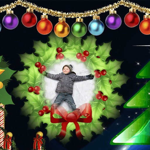 Christmas Santa Hd Photo Frames - Frame editor