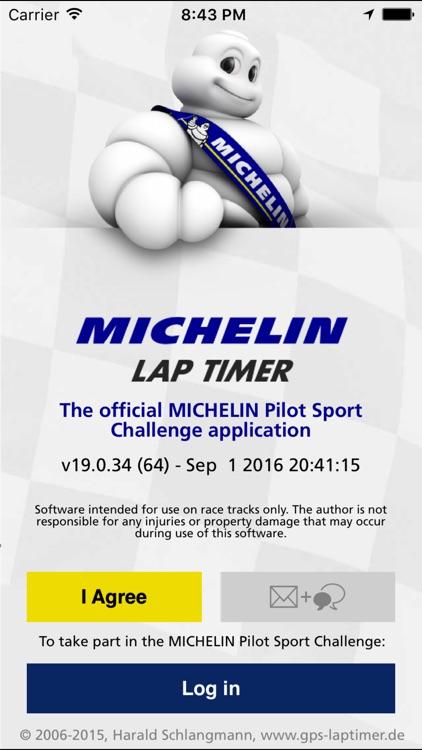 MICHELIN Lap Timer