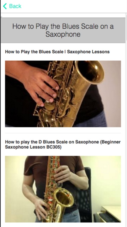 How to Play Saxophone - Lessons For Beginners screenshot-3