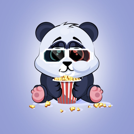 Adorable Panda Emoji Stickers