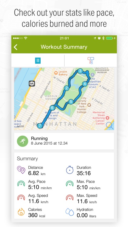 Running, Walking and Biking with Endomondo