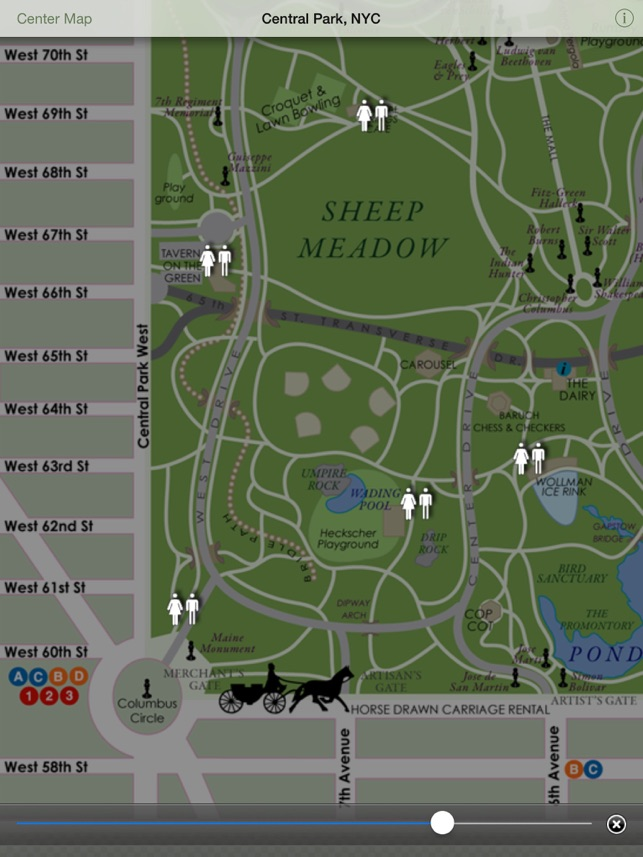 Central Park NYC Lite for iPhone iPad on the App Store