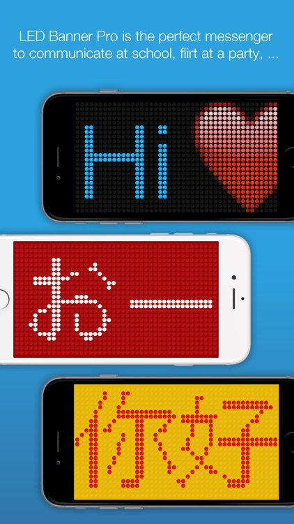 LED Banner Pro - Scrolling Text Display App screenshot-0