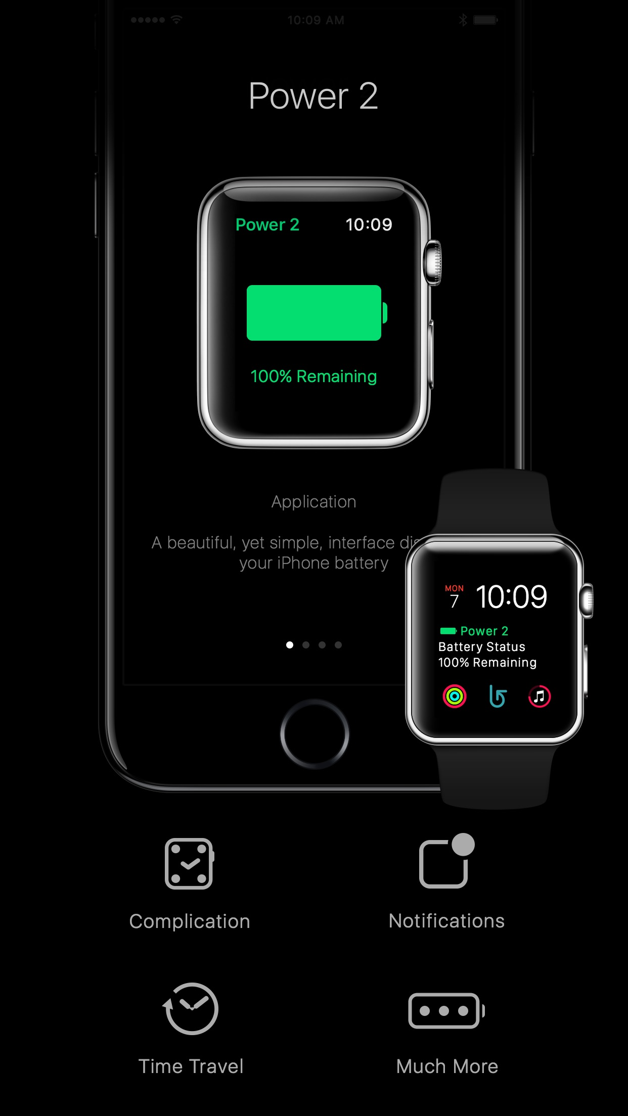 Screenshot do app Power 2 for iPhone and Apple Watch