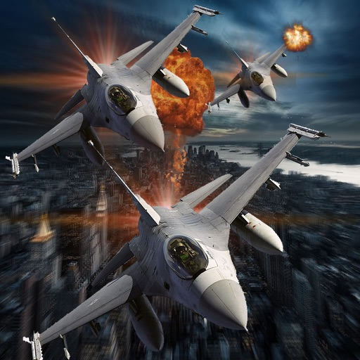 Air Combat Airplane Vindictive - Dangerously Addictive Air Simulation Game icon