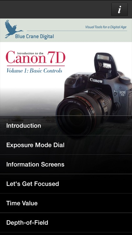 Canon 7D HD - Basic Controls