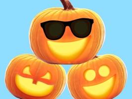 Jack-o-Lantern Halloween Pumpkin Sticker Pack