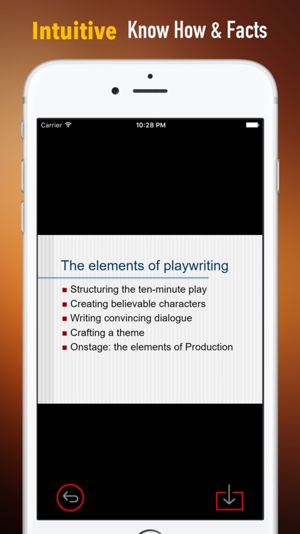 Playwriting Glossary |Study Guide and Flashcards