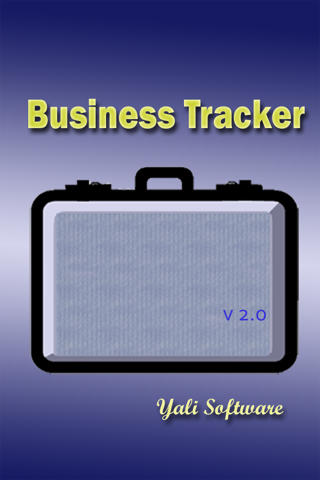Screenshot of Business Tracker