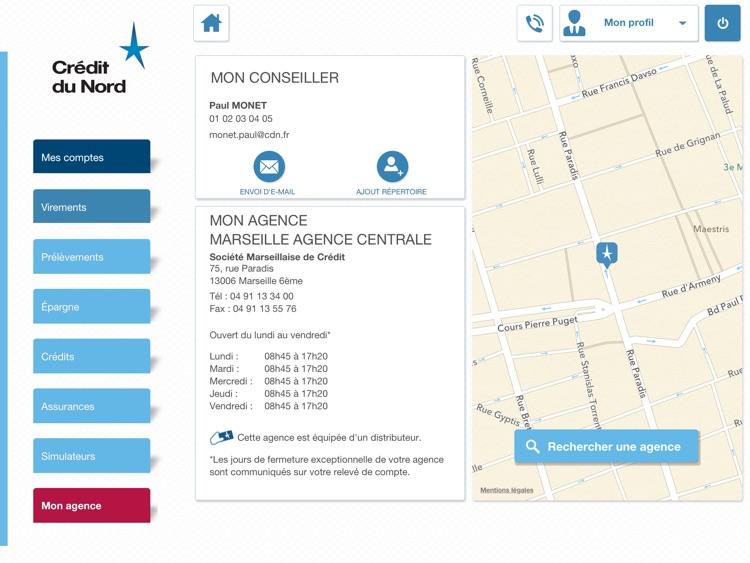 Crédit du Nord pour iPad screenshot-4