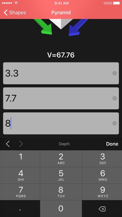 vol - volume calculator screenshot-4