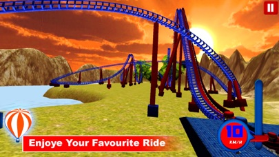 Desert Tycoon Roller Coaster : 3D Lake simulation