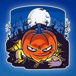 Halloween Ghosts Emoji Stickers - for iMessage