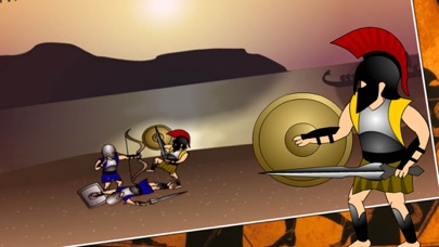 Spartan Warrior War:Fight for Freedom screenshot two