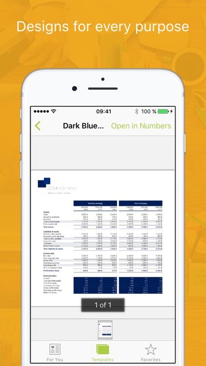 Templates for iWork 2 (Bundle Edition) screenshot-3