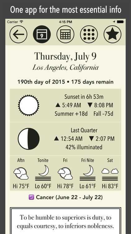American Almanac of Astronomy and Weather
