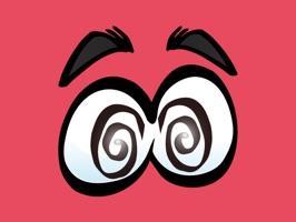 Photobomb Stickers - Cartoon Eye  for iMessage