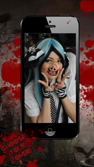 Halloween Photo Booth - Monster & Zombie Maker Capture d'écran