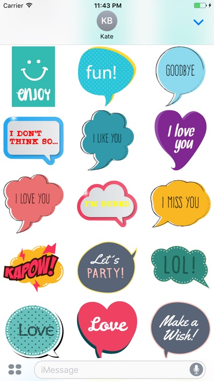 Say Something Stickers screenshot-3