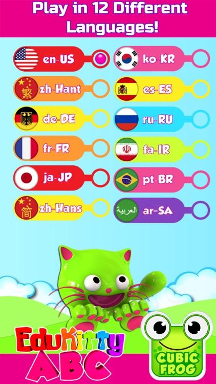 EduKitty ABC - Learn Alphabet screenshot-4