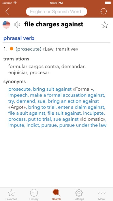 Spanish Legal Dictionary review screenshots