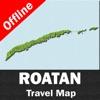 ROATAN ISLAND (HONDURAS) – GPS Travel Map Offline Navigator